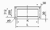 MF系列脉冲布筒滤尘器安装示意图
