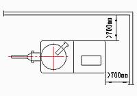 GSL系列高效濕法混合制粒機平面布置圖