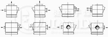 MF系列脉冲布筒滤尘器结构图