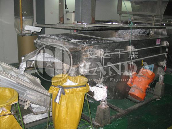 玻璃纤维干燥生产线