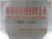 信用合同AAA级企业(08-09)