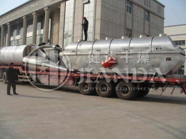 七水硫酸锌专用流化床干燥机