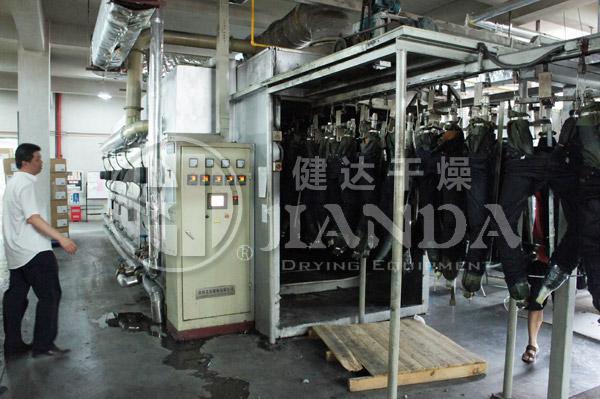 牛仔裤洗水专用烘干生产线