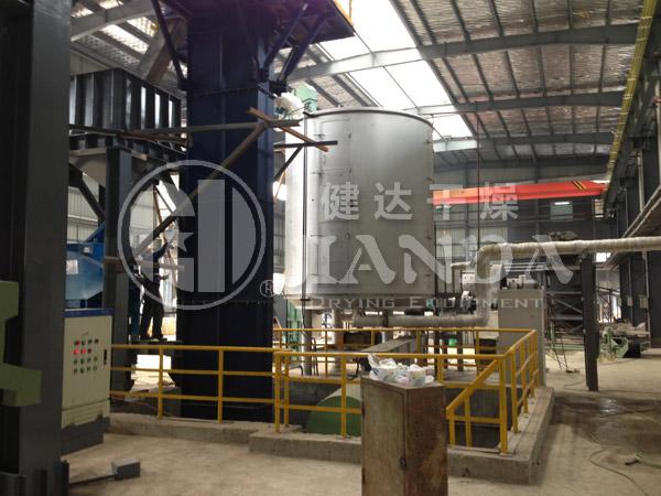 铁粉专用盘式连续干燥机