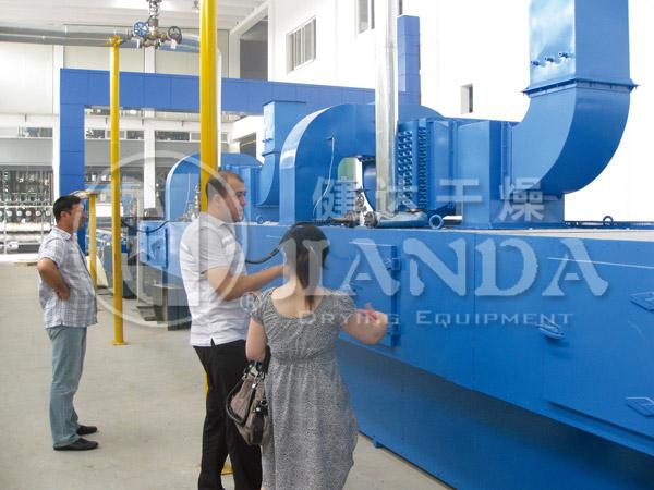石膏板专用带式干燥机