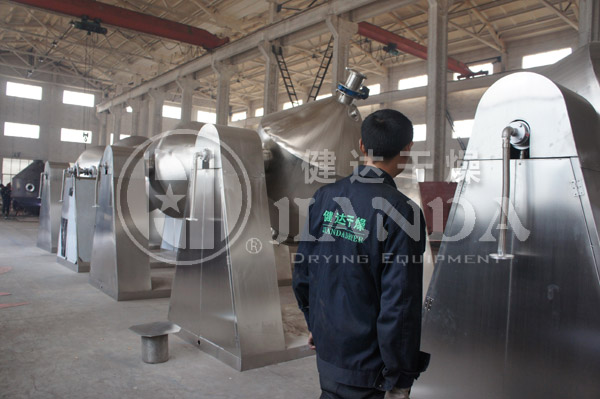 铜粉等金属粉末专用回转真空干燥机