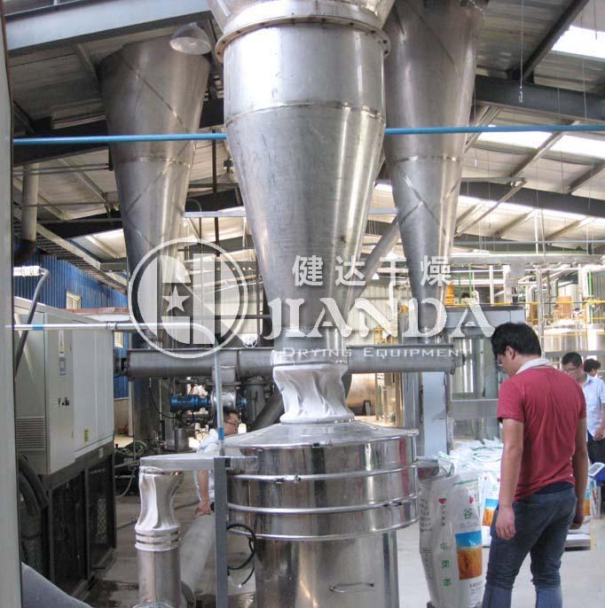 水解蛋白压力喷雾干燥机调试现场3