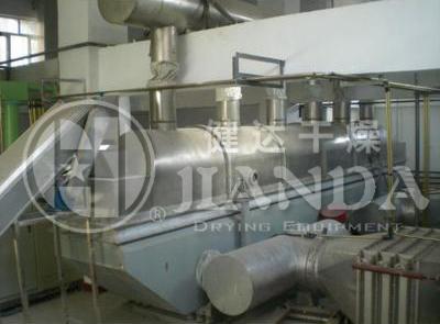 七水硫酸镁专用振动流化床干燥机