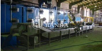 常州健达干燥生产的DWT网带式脱水蔬菜干燥机