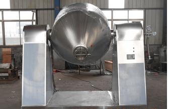 常州健达干燥生产的SZG系列双锥回转真空干燥设备