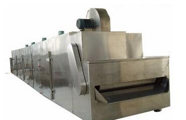 常州健达干燥生产的DW系列网带式干燥设备