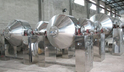 常州健达干燥生产的双锥回转真空干燥设备