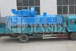 常州健达干燥生产的DWP系列喷射气流带式干燥设备
