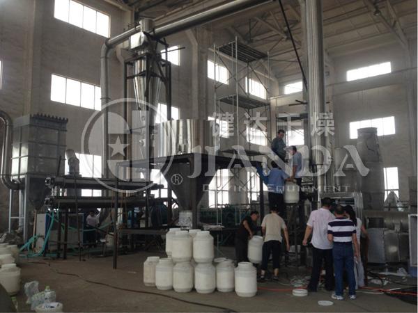 淀粉干燥生产线