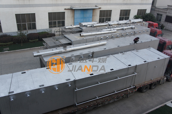SD系列隧道式热风循环烘箱