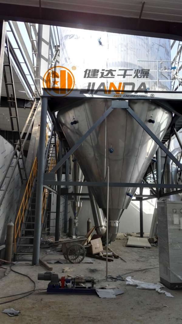 YPL系列压力式喷雾制粒干燥机